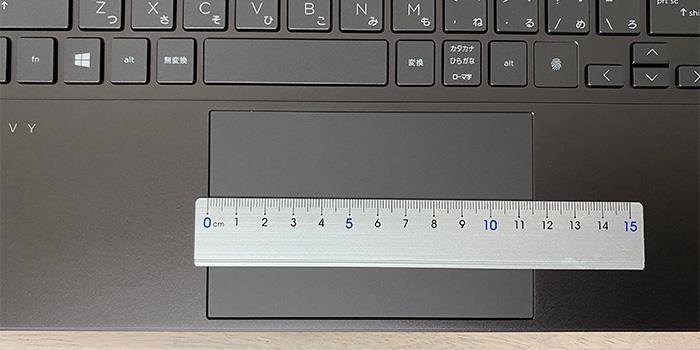 HP-ENVY-15eeのタッチパッド
