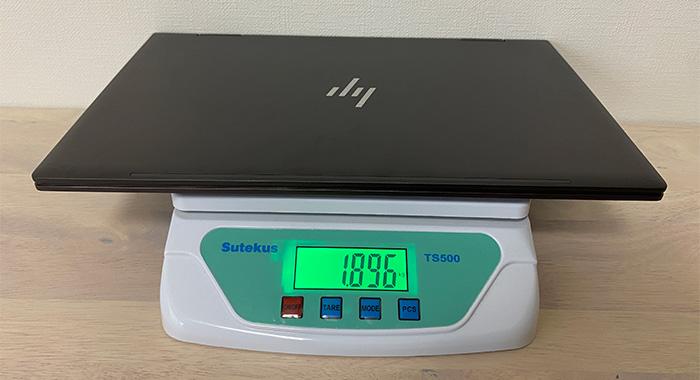HP-ENVY-15eeの本体重量