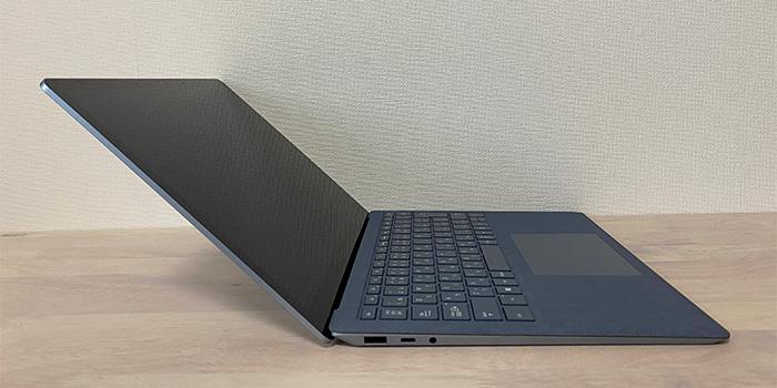 Laptop4の傾斜