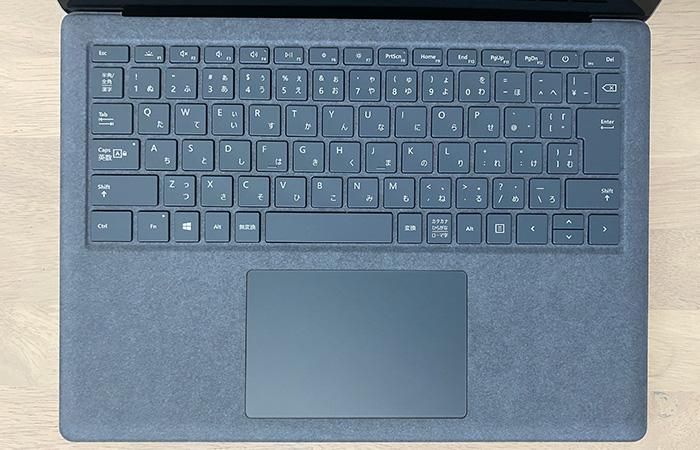Laptop4のキーボード