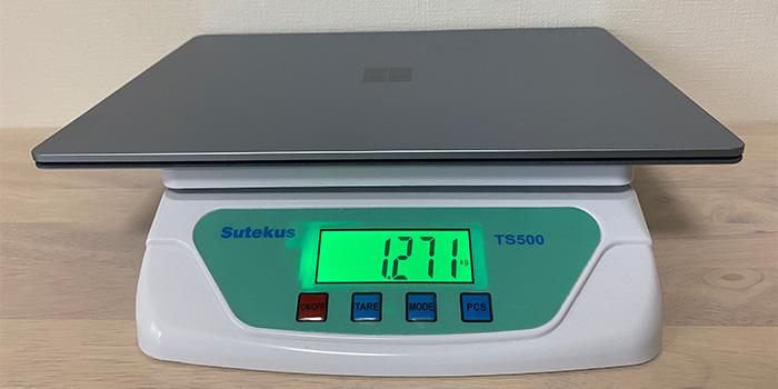 Laptop4の重量