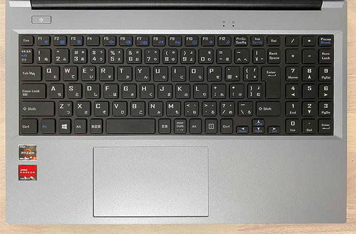 mouse B5-R5のキーボード