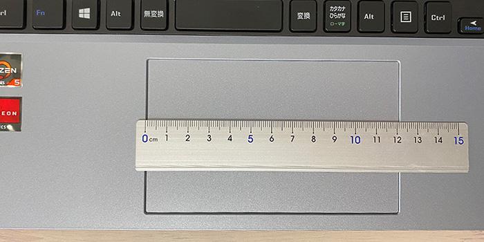 mouse B5-R5のタッチパッド