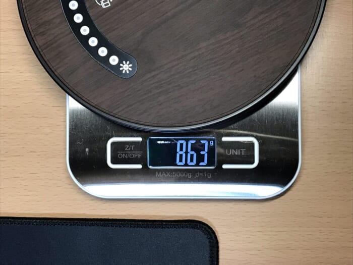TT-DL13 重さ