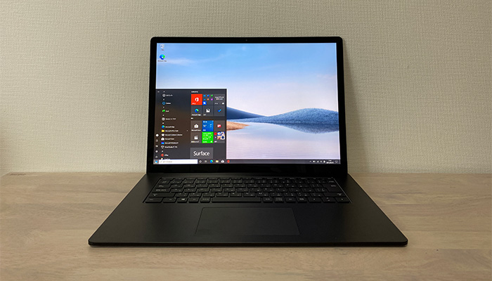 Surface_laptop4_15ryzenの全体像
