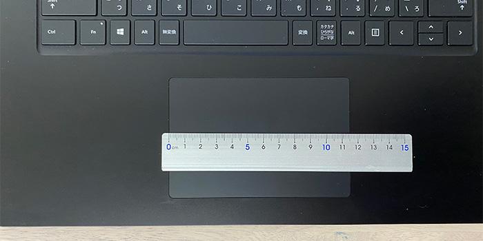Surface_laptop4_15ryzenのタッチパッド