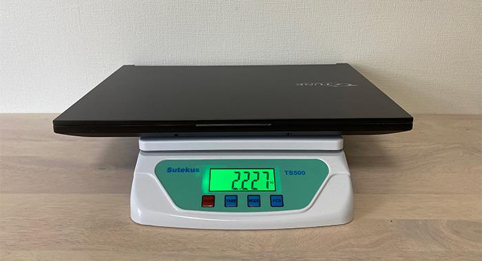 G-Tune H5の重量