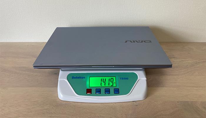 DAIV4Nの本体重量