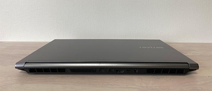 ドスパラ raytrek G5-Rのインターフェース背面