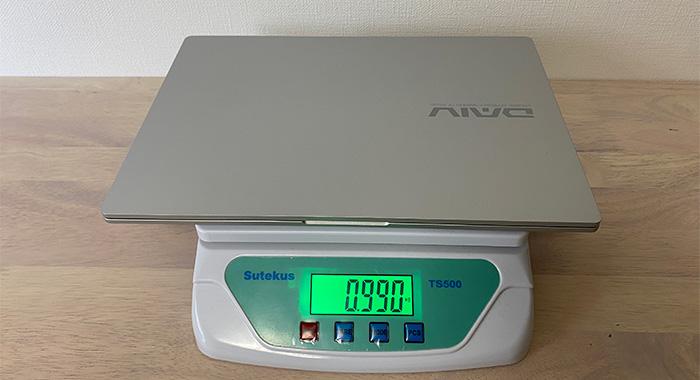 DAIV4Pの本体重量