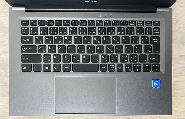 mouse C4のキーボード