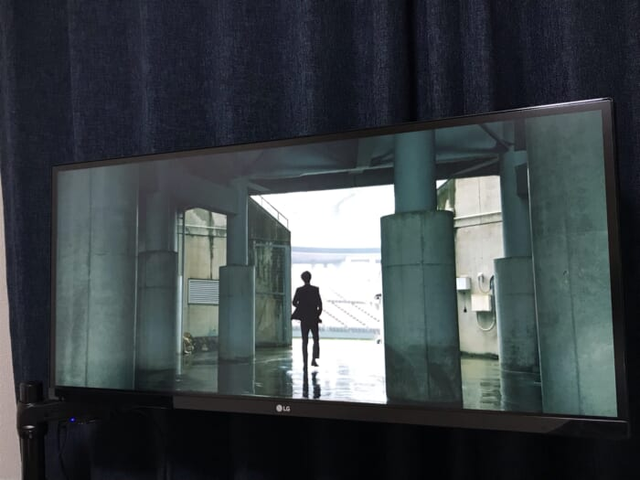 LG ウルトラワイドモニター ビデオ