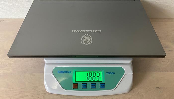 RL5C-R35Tの本体重量
