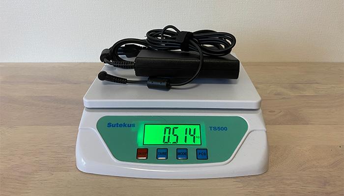 mouse K7のAC重量