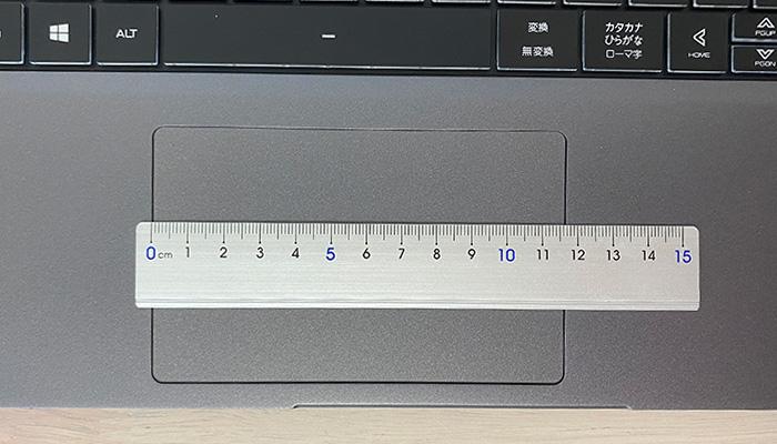 DAIV 5Pのタッチパッド